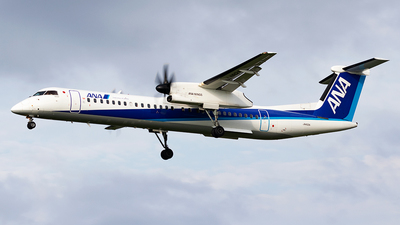 A picture of JA462A - De Havilland Canada Dash 8400 - All Nippon Airways - © Yukio023