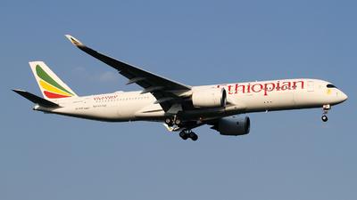 ET-AUA - Airbus A350-941 - Ethiopian Airlines