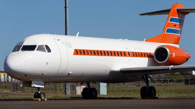 A picture of VHKBX - Fokker 70 - Alliance Airlines - © Josh Deitz