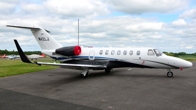 N42LJ - Cessna 525B CitationJet 3 - Private