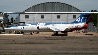 104763 - Canadair CF-104A Starfighter - Canada - Royal Canadian Air Force (RCAF)