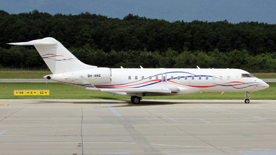 9H-ANS - Bombardier BD-700-1A10 Global 6000 - Private