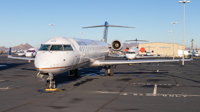 N501MJ - Bombardier CRJ-701ER - United Express (Mesa Airlines)