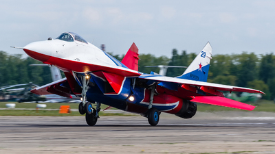 RF-91929 - Mikoyan-Gurevich MiG-29S Fulcrum C - Russia - Air Force