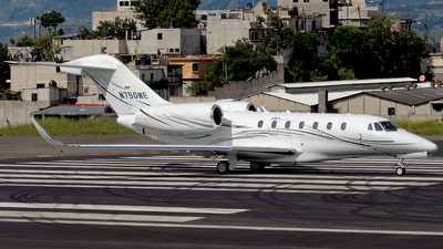 N750ME - Cessna 750 Citation X - Private