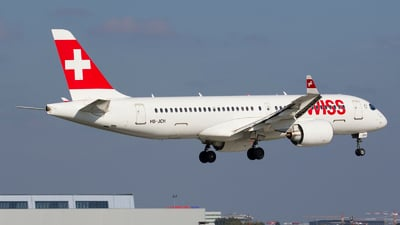 A picture of HBJCH - Airbus A220300 - Swiss - © Rafal Pruszkowski