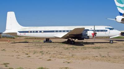 N777EA - Douglas DC-7C Seven Seas - Private