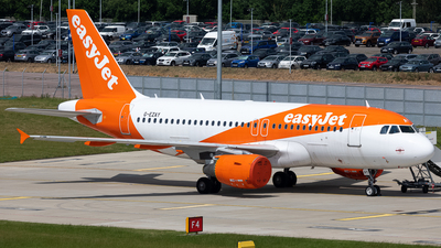 A picture of GEZAY - Airbus A319111 - easyJet - © Keiran Sidwell