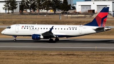 A picture of N215JQ - Embraer E175LR - Delta Air Lines - © mariaPGAer