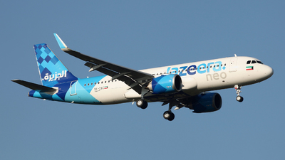 9K-CBC - Airbus A320-251N - Jazeera Airways