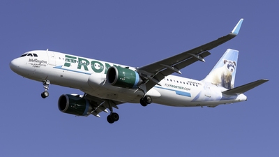 A picture of N362FR - Airbus A320251N - Frontier Airlines - © Kerrigan_Aviation_NJ