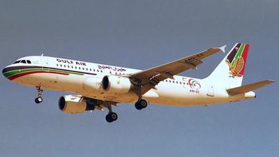 A4O-EC - Airbus A320-212 - Gulf Air