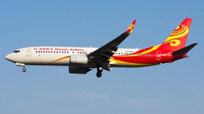 B-1538 - Boeing 737-84P - Hainan Airlines
