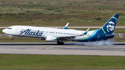 A picture of N264AK - Boeing 737990(ER) - Alaska Airlines - © Shattuck Bell