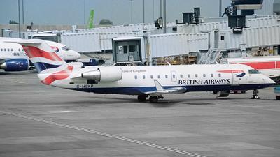 G-MSKP - Bombardier CRJ-200LR - British Airways (Maersk Air)