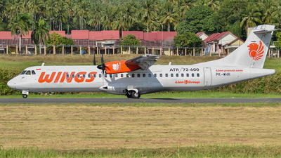 PK-WHR - ATR 72-212A(600) - Wings Air