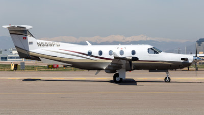 N559PB - Pilatus PC-12/45 - Private