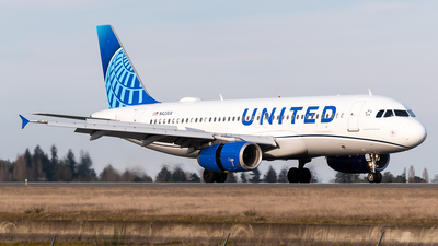 A picture of N423UA - Airbus A320232 - United Airlines - © Nick Sheeder