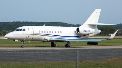 N244C - Dassault Falcon 2000EX - Private