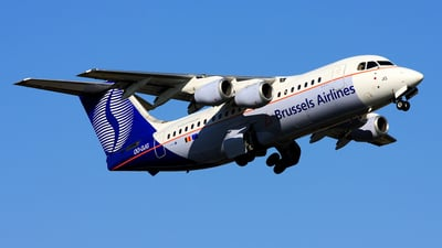 OO-DJG - British Aerospace BAe 146-200 - Brussels Airlines