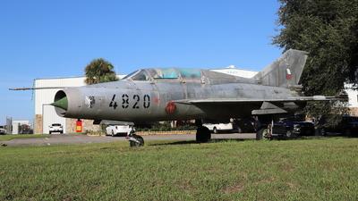 4820 - Mikoyan-Gurevich MiG-21U Mongol A - Czech Republic - Air Force