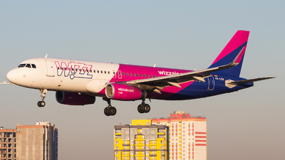 HA-LSA - Airbus A320-232 - Wizz Air