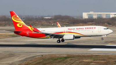 B-206F - Boeing 737-84P - Hainan Airlines