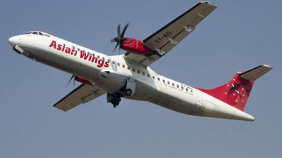 XY-AIS - ATR 72-212A(500) - Asian Wings Airways