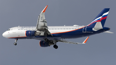 A picture of VPBIJ - Airbus A320214 - Aeroflot - © SN7756