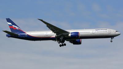 A picture of VQBUC - Boeing 7773M0(ER) - Aeroflot - © Luca Gussoni