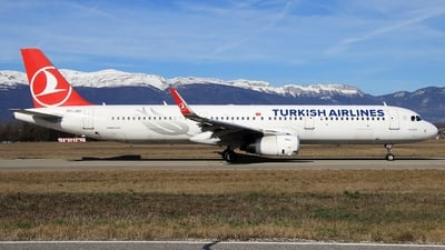 A picture of TCJSU - Airbus A321231 - Turkish Airlines - © AirBusAl