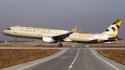 A picture of A6AEJ - Airbus A321231 - Etihad Airways - © Shajie Hussain