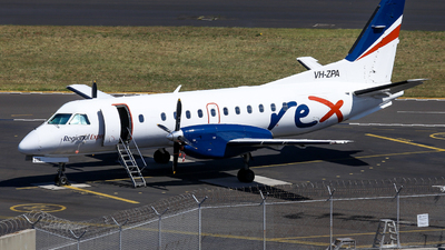 A picture of VHZPA - Saab 340B - Regional Express - © Haozhe Peng