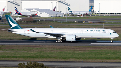 F-WZHJ - Airbus A350-1041 - Cathay Pacific Airways