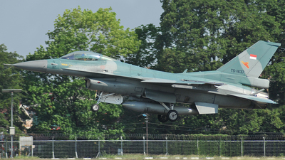 TS-1637 - Lockheed Martin F-16C Fighting Falcon - Indonesia - Air Force