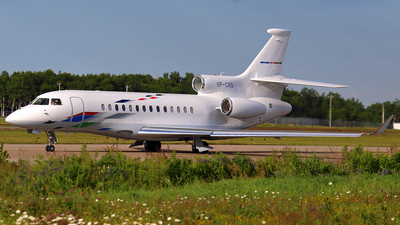 VP-CRS - Dassault Falcon 7X - VW Air Services