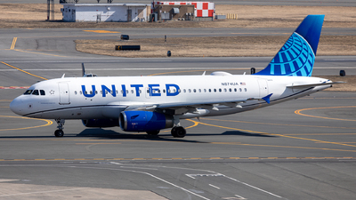 N874UA - Airbus A319-132 - United Airlines