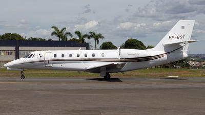 A picture of PPBST - Cessna 680 Citation Sovereign - [6800184] - © DeltaFox Spotter