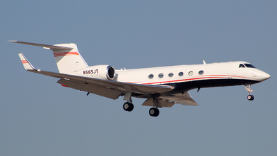 N565JT - Gulfstream G-V - Private