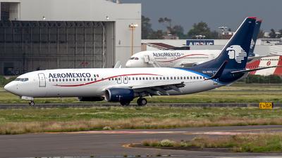 A picture of XAOOO - Boeing 7378FZ - Aeromexico - © Iván Cabrero