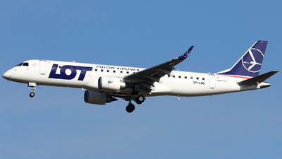 SP-LMD - Embraer 190-100STD - LOT Polish Airlines