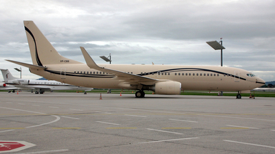 VP-CBB - Boeing 737-8AW(BBJ2) - Bugshan Group