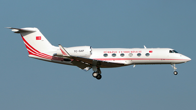 TC-GAP - Gulfstream G450 - Turkey - Government