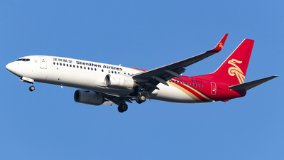 A picture of B1712 - Boeing 73787L - Shenzhen Airlines - © Fuxin Ma