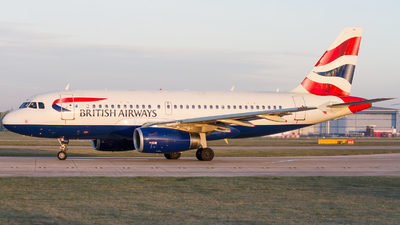 G-EUOA - Airbus A319-131 - British Airways