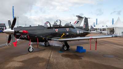 ZM324 - Hawker Beechcraft T-6A Texan II - United Kingdom - Royal Air Force (RAF)