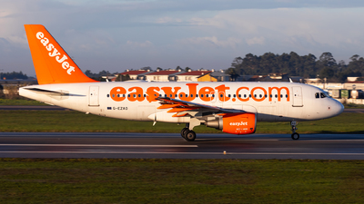 A picture of GEZAO - Airbus A319111 - easyJet - © Carlos Miguel Seabra