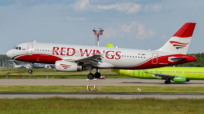 VP-BWY - Airbus A320-232 - Red Wings
