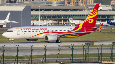A picture of B5579 - Boeing 73784P - Hainan Airlines - © Eric Wang