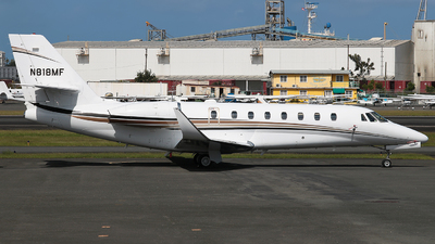 N818MF - Cessna 680 Citation Sovereign - Private